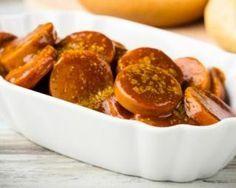 Rondelles légères de saucisses au curry : http://www.fourchette-et-bikini.fr/recettes/recettes-minceur/rondelles-legeres-de-saucisses-au-curry.html