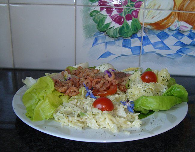 Koude, zuurzoete, witte koolsla, Recepten - Groenten, Gette.org