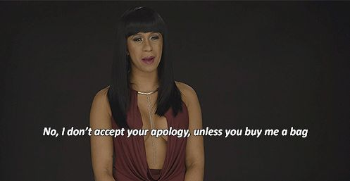 When she dropped this gem on forgiveness.   16 Reasons Cardi B. Is A Gift From The Reality TV Gods