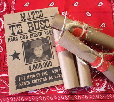 la casa de Tanocha: Se buscan invitados. Fiesta vaquera I