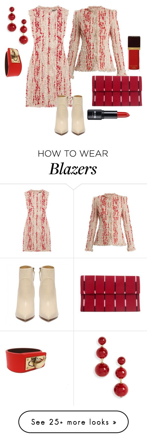 """""""I have business to do"""" by forgetrules on Polyvore featuring Alexander McQueen, Kate Spade, NOVICA, Givenchy and Tom Ford"""