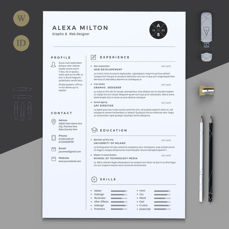 Best 25+ Resume design ideas on Pinterest Resume ideas, Resume - single page resume