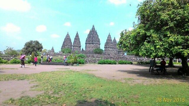 Candi Prambanan (Prambanan Temple) di Sleman, DI Yogyakarta