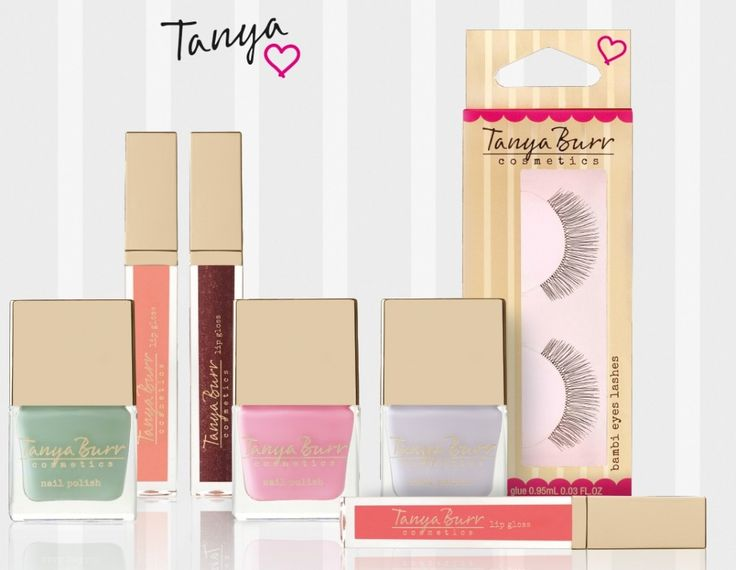 I love the new Tanya burr range its packing is so cute! and its just a beautiful range xx @tanyanurr