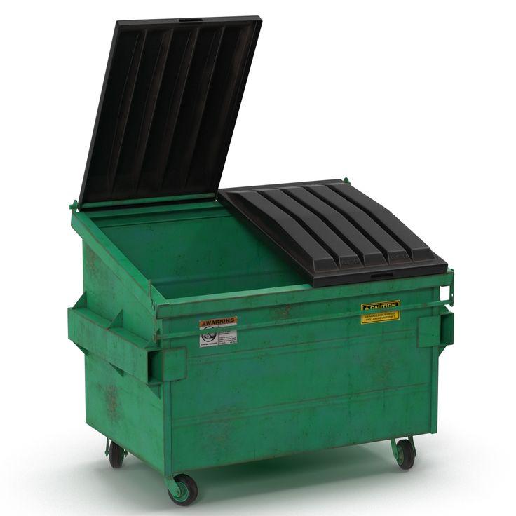 3d model of Dumpster http://www.turbosquid.com/3d-models/dumpster-realistic-3d-model/944922?referral=3d_molier-International