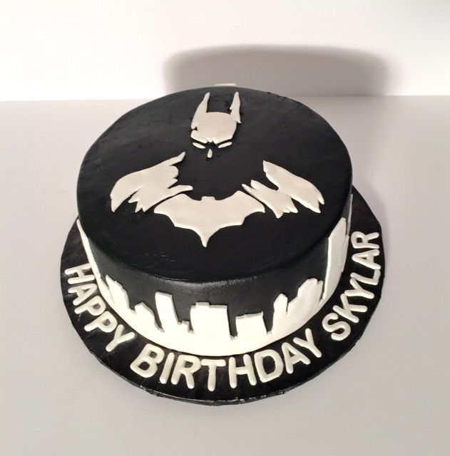 Batman Birthday Cake Dark Knight Birthday Cake Childrens - Dark knight birthday cake