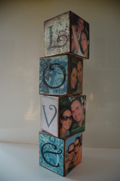 DIY Block Letters cute for family too.... @Cristina Plemons we have to try this!