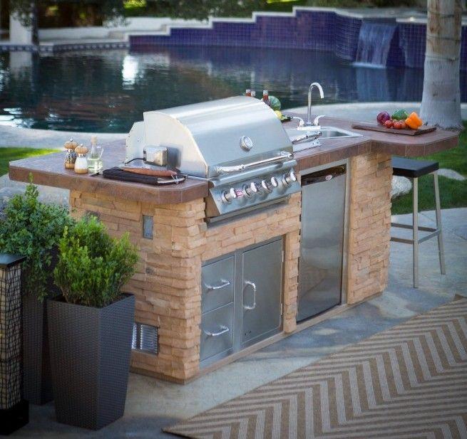 Mejores 12 imágenes de Outdoor Kitchen Kits en Pinterest | Kits de ...
