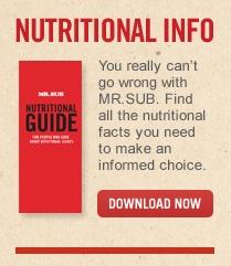 MR SUB Nutrition