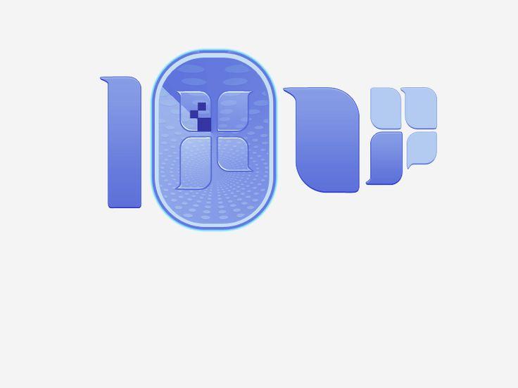 "Logo idea for a company called ""10 pixels up"" April 2nd 2011"