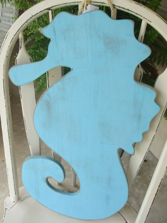 Large wooden Seahorse Single but can be bought by kygracedesigns, $28.00
