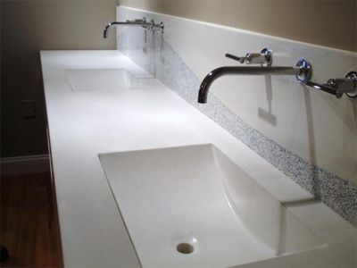 Integrated Sink Kitchen Countertop How To Clean