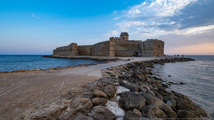 La fortezza aragonese di Le Castella nel 2020 Castelli