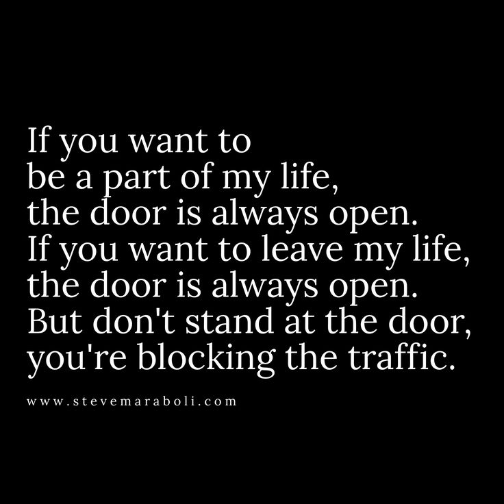 You're blocking the traffic...