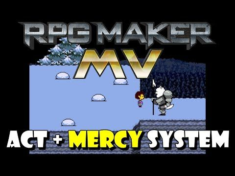 RPG Maker MV Tutorial: ACT + MERCY System (from Undertale) - YouTube