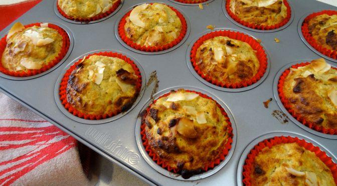 Easy Paleo Banana Muffins. Nut-free, sugar-free, grain-free, dairy-free.