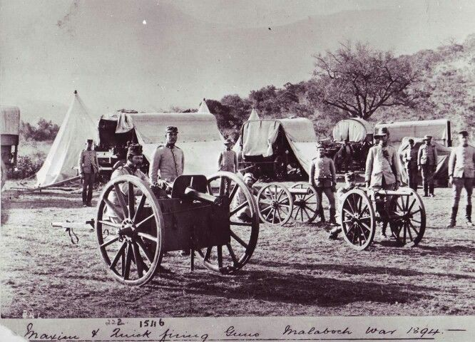 No 649 also saw action with the ZAR Staatsartillerie during the Malaboch War in 1894: