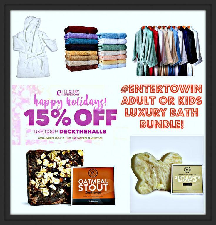 #EnterToWin Luxury Bath Bundle! ~ @eLuxurySupply #Giveaway!