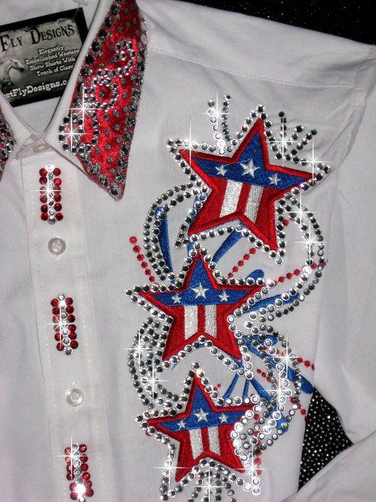 Rodeo Queen Bling Shirts | ... CUSTOM WESTERN PLEASURE SHOW SHIRT REINING/RODEO QUEEN/ BARREL RACING