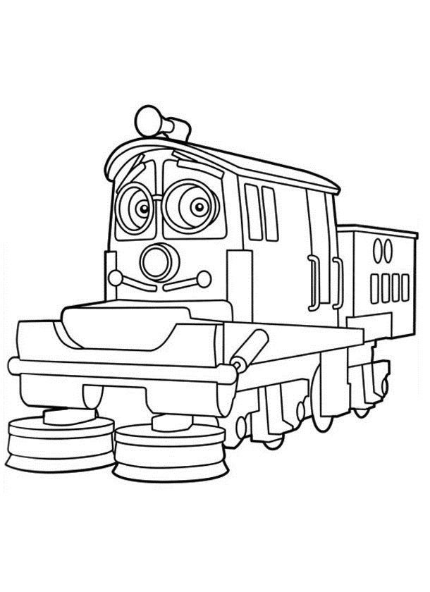 35 best chuggington images on Pinterest | Train, Trains and Coloring ...