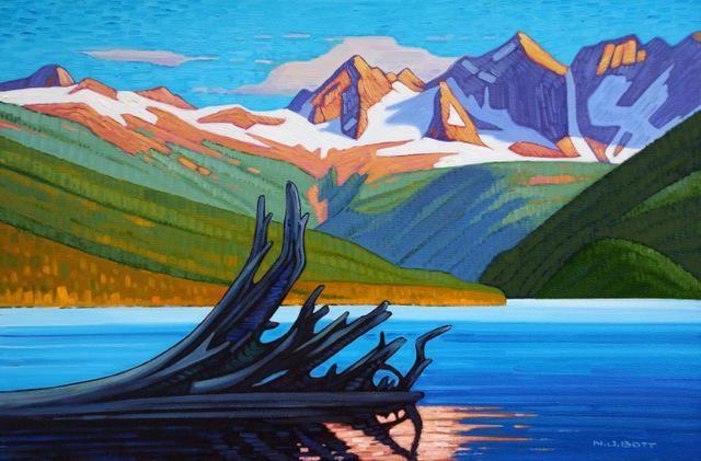 Nicholas Bott Canadian Artist | via Nancy Jeffrey