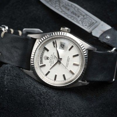 B&S Rolex W-18 1803 WG 33