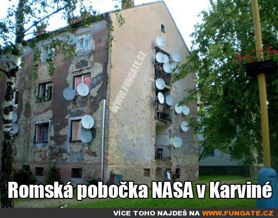 Romská pobočka NASA v Karviné