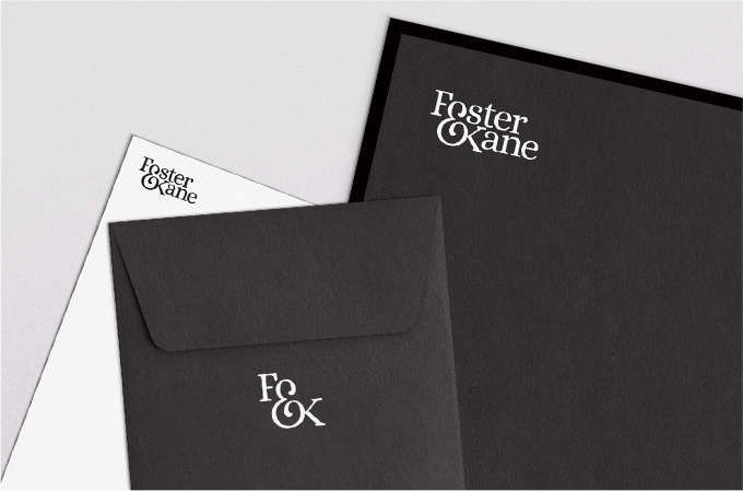 Foster and Kane branding