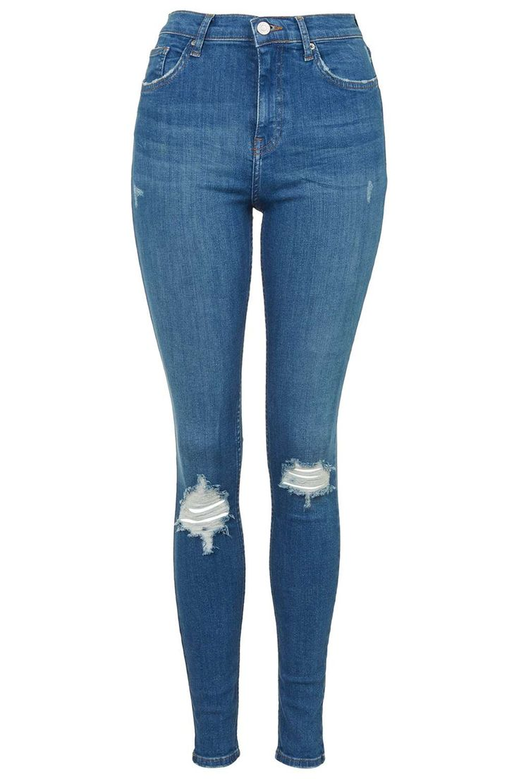 MOTO Authentic Ripped Jamie Jeans - Topshop