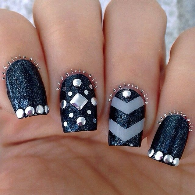 Instagram photo by badgirlnails #nail #nails #nailart | See more nail designs at http://www.nailsss.com/nail-styles-2014/