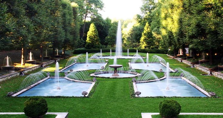 17 Best Images About Luxury Gardens Garden Features On