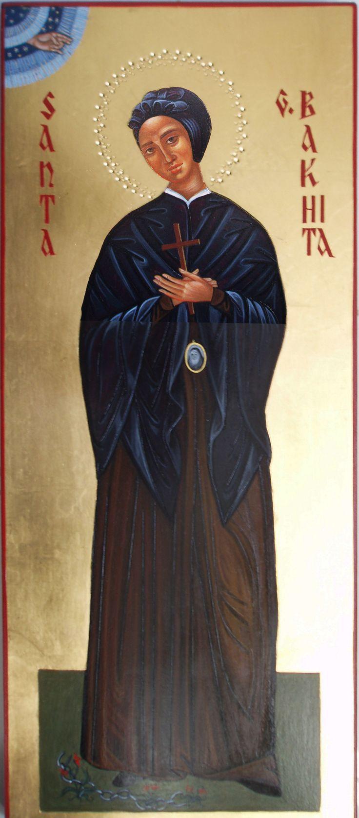 Santa Giuseppina Bakhita per mano di Maria Marciandi (Italy)