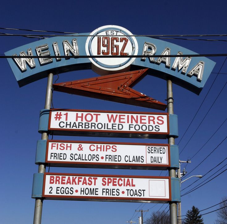 Wein-o-rama sign | Wein-o-rama in Cranston, RI. One of the m… | Flickr