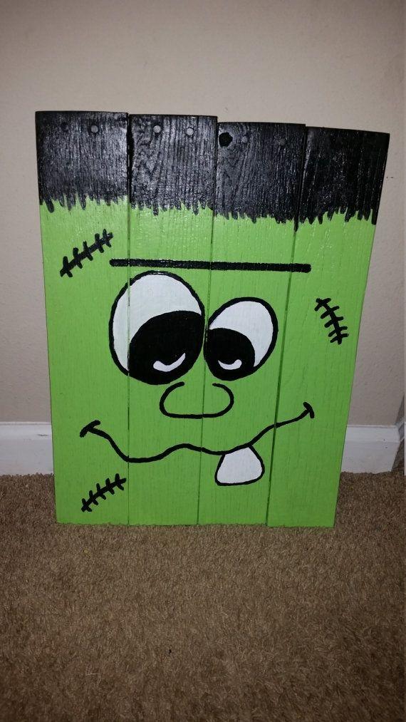 Diese Große Frankenstein Misst Etwa 14 Zoll Breit Und 20 Zoll Groß. Großes  Stück Für