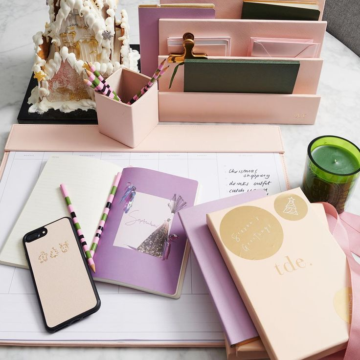 Our 2nd offer in the lead up to Christmas, from 9am - 9pm AEST today purchase one of our illustrated 2018 diaries and receive a complimentary lilac or khaki notebook, the perfect luxe gift //// shop personalised leather accessories via @thedailyedited www.thedailyedited.com