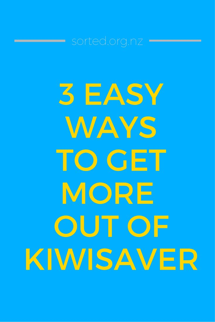 $462,000! That's one heck of a lot of money - and it's an example of how much more you could have in retirement savings if you maximise KiwiSaver. These 3 simple moves will power up your KiwiSaver account - try one or  more of them to boost your savings!