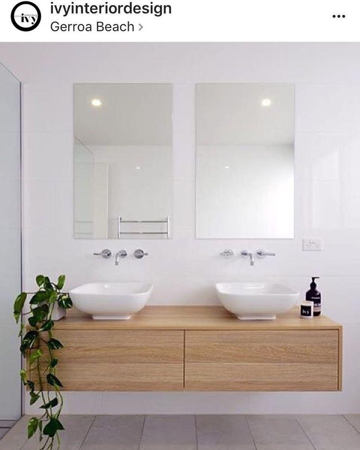 Repost @ivyinteriordesign This is awesome! #bathroomreno #bathroomdesign #bathroom #doublevanity #bathroominspo