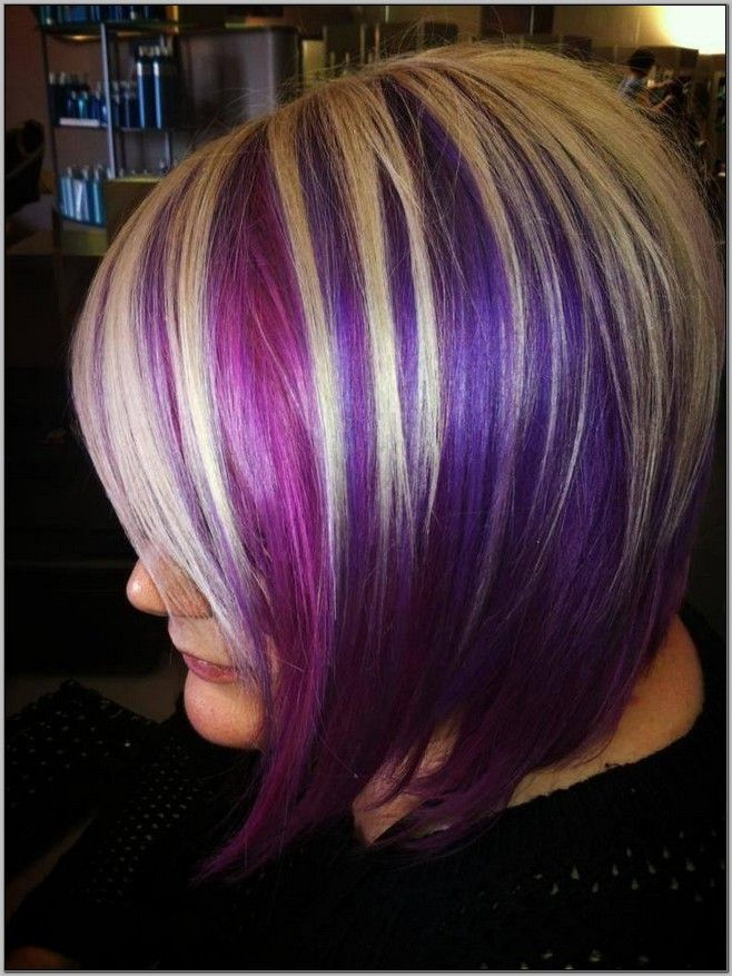 1000 Ideas About Purple Highlights Underneath On