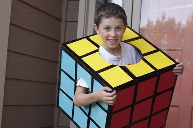 Farsangi jelmez: Rubik kocka