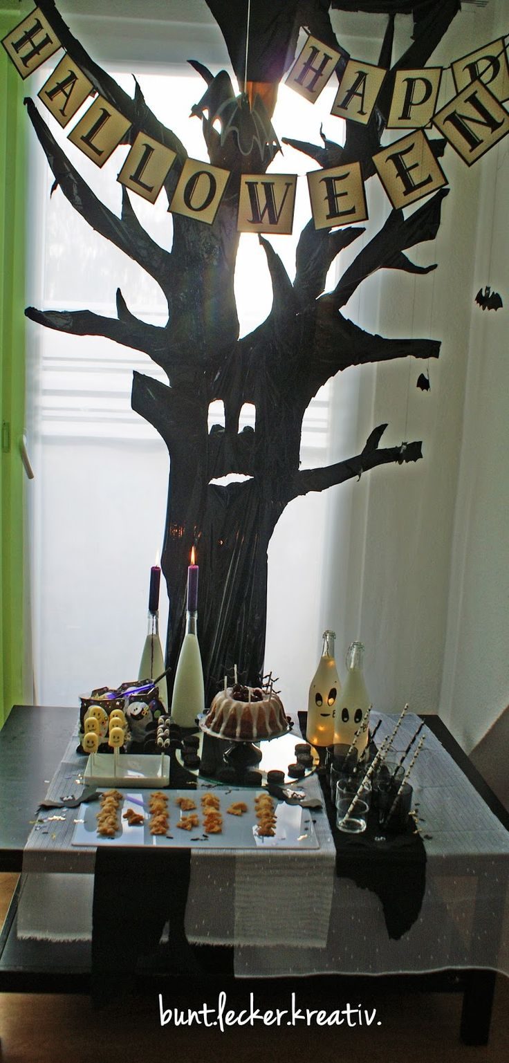 die 25+ besten ideen zu halloween girlande auf pinterest ... - Halloween Deko Wohnzimmer