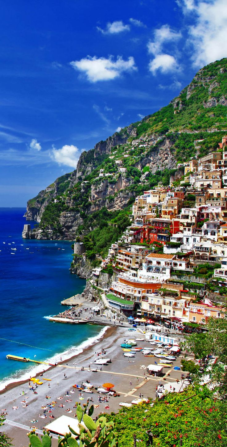 Ciao Italia. Amazing Positano. Amalfi Coast   |  45 Reasons why Italy is One of the most Visited Countries in the World