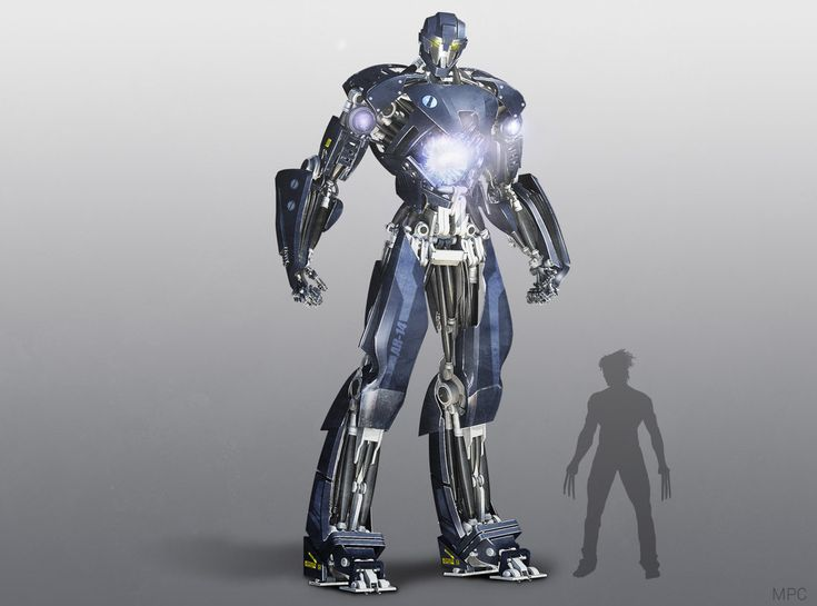Futuristic Sentinel Concept Art for X-Men: Days of Future Past.