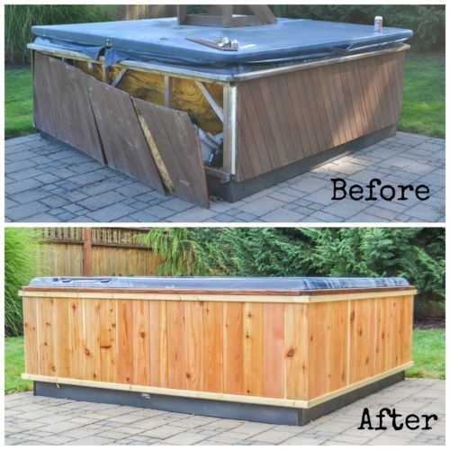 How to repair and restore a hot tub - The Created Home