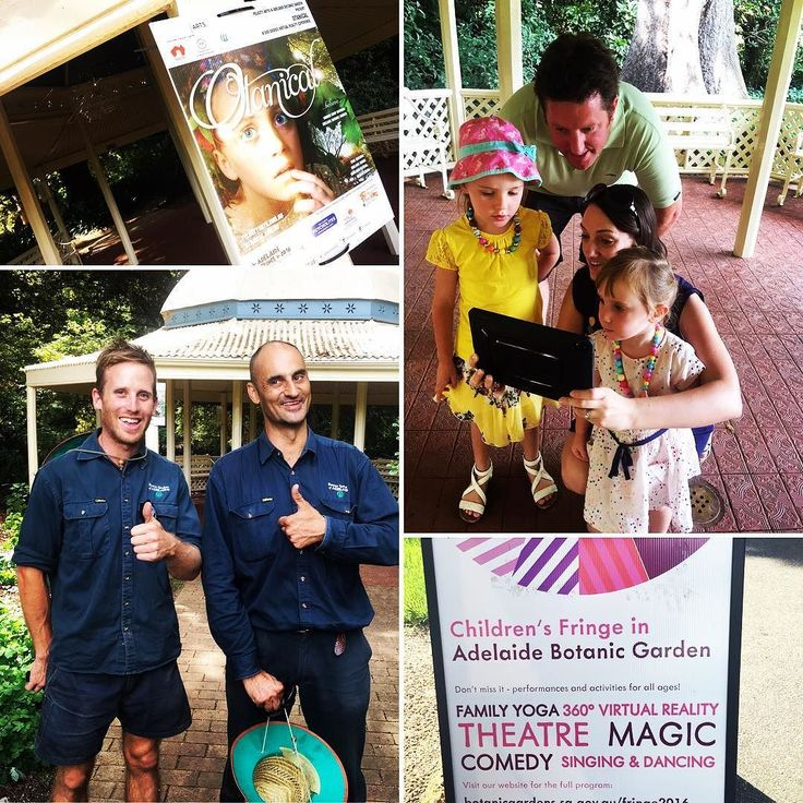 An awesome Virtual Reality pic! A glorious Monday at the Barbershop Rotunda where visitors and locals discovered the magical world of Otanical! @adlfringe @botanicgardenssa #adelaide #monday #adlfringe #botanicgarden #otanicalismagical #magic #virtualreality #360degrees by otanical check us out: http://bit.ly/1KyLetq