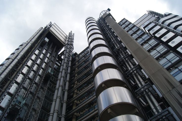 lloyd's hq - london - richard rogers - 1986