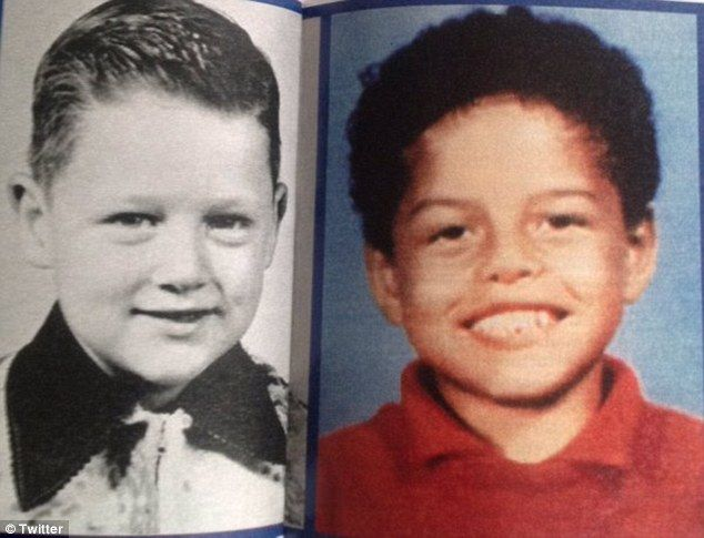 In December, Danney started a Facebook page under the name Danney Williams-Clinton, nad has been posting several comparison shots between himself and Clinton in order to show a resemblance