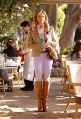 How to dress classic preppy upper class clothing style for a girl.
