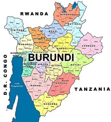 le Burundi-afrique