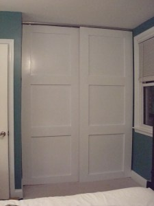 How To Make Your Own Floor To Ceiling Sliding Closet Doors