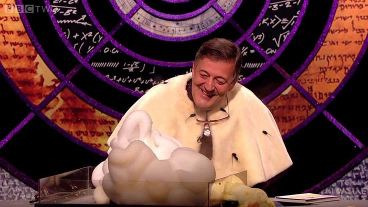 """Hydrogen Peroxide Explosion"" - QI: Series K Episode 5 Preview - BBC Two Jeremy Clarkson, Jimmy Carr, Bill Bailey, Alan Davies and Stephen Fry"